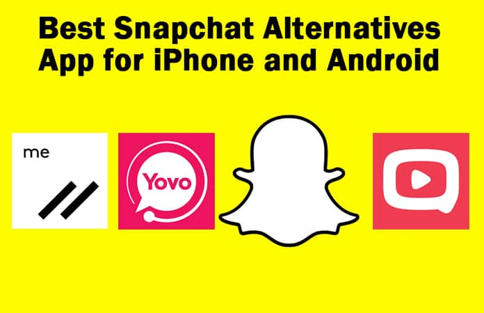best snapchat alternatives