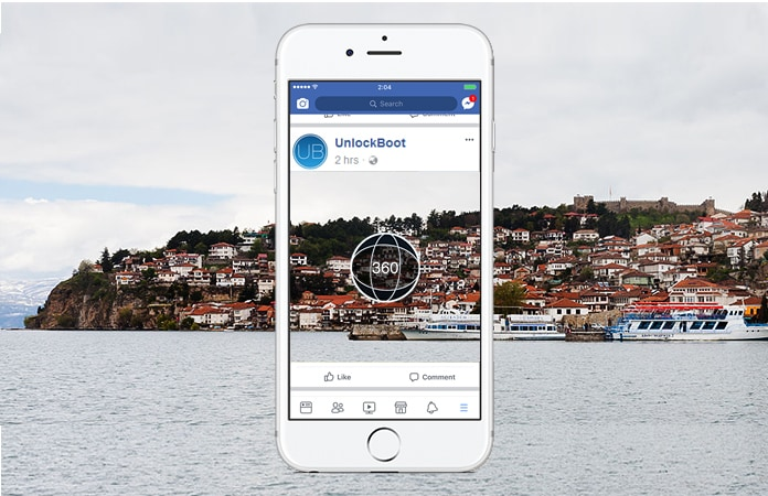 Take 360 Degree Photos in Facebook's App With Your iPhone