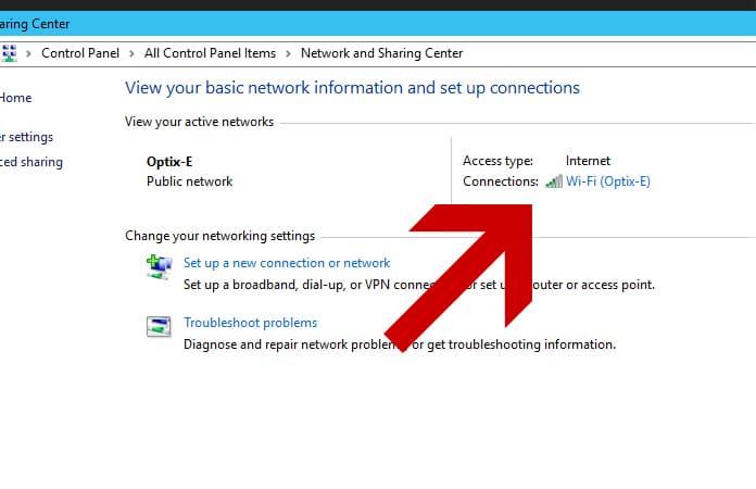 show saved wifi password on windows 10
