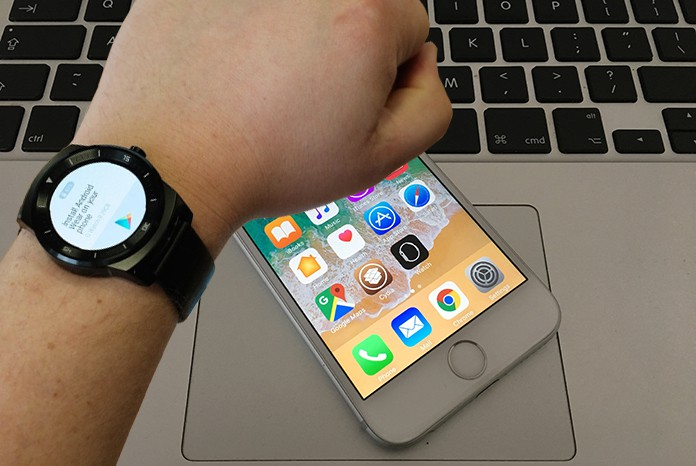 connect android smartwatch to iphone