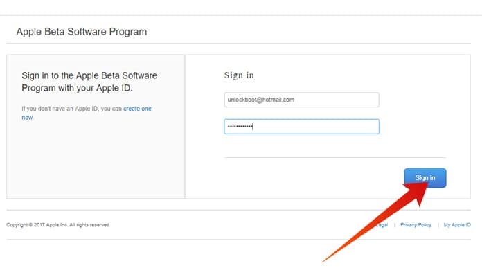 install tvOS public beta software