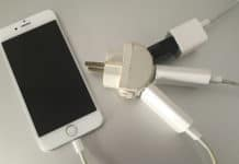 fix a broken iphone charger