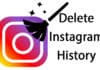delete Instagram search history