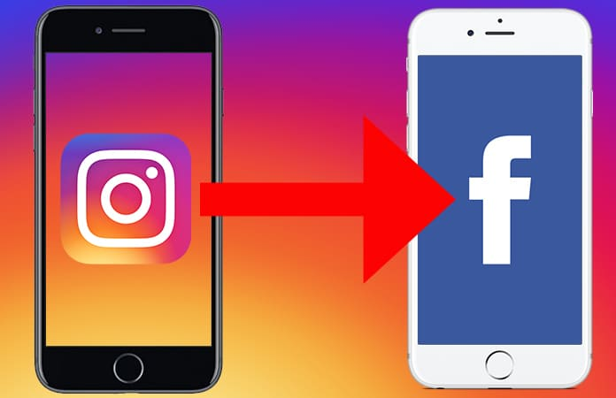 automatically post instagram photos to facebook
