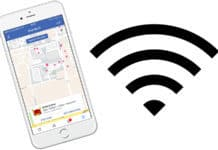 find free wifi using facebook
