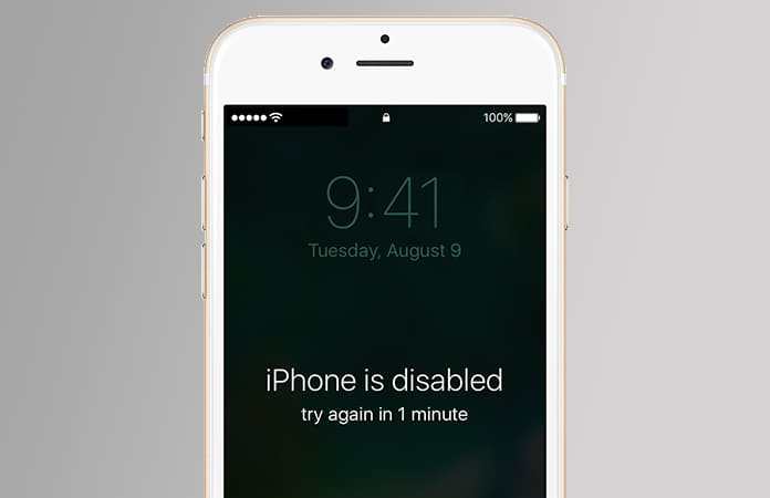 iphone is disabled bypass