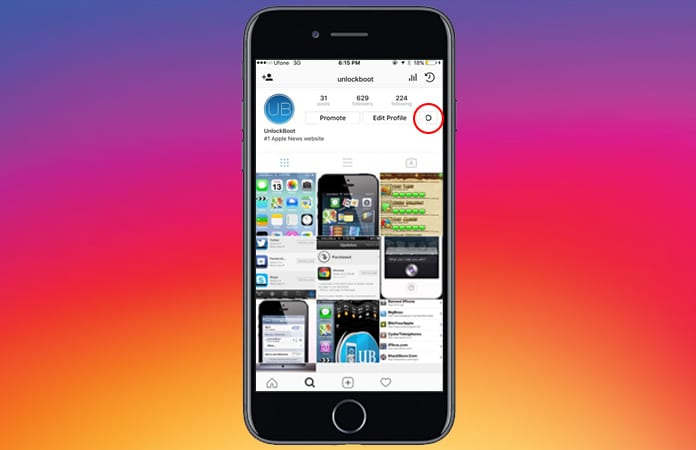 automatically share instagram photos to facebook