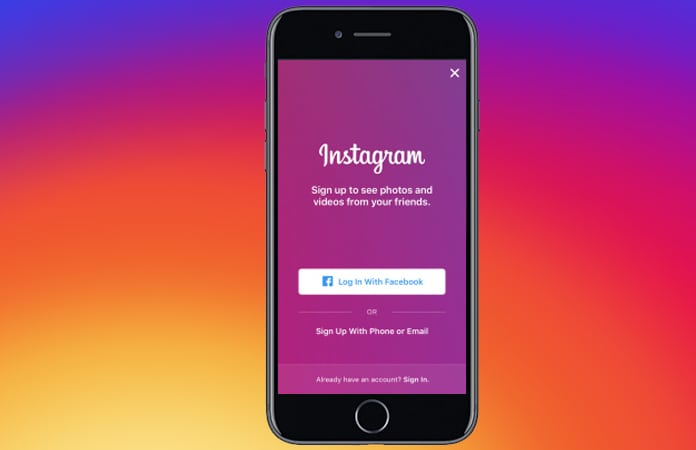 auto post instagram photos to facebook