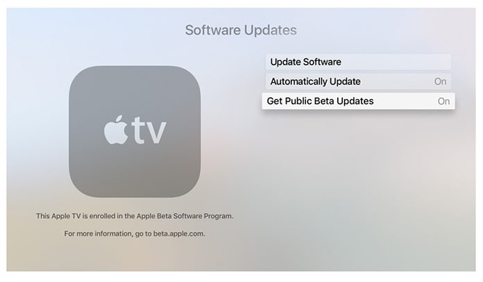 download tvOS public beta