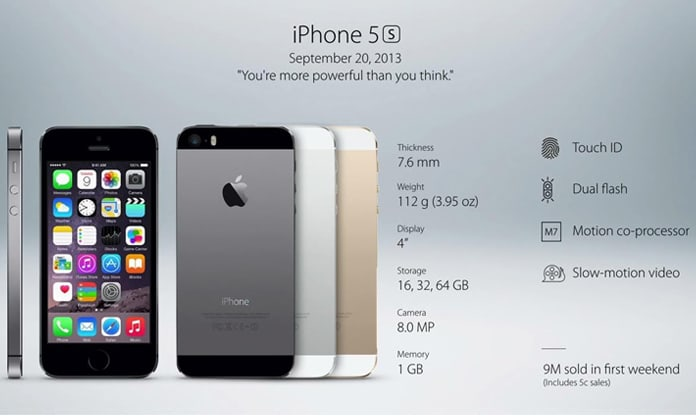 iphone models history