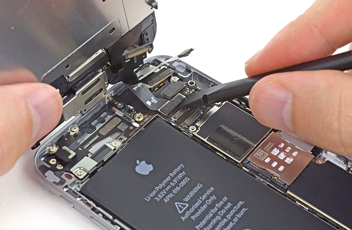 how to take battery out of iphone 6