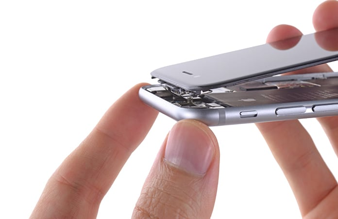 how to remove battery from iphone 6