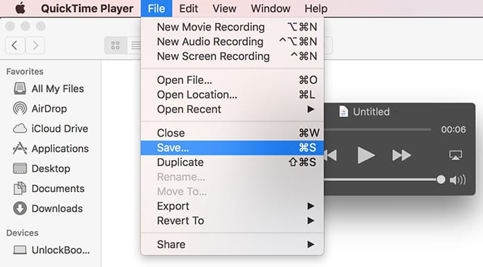 mac audio recorder
