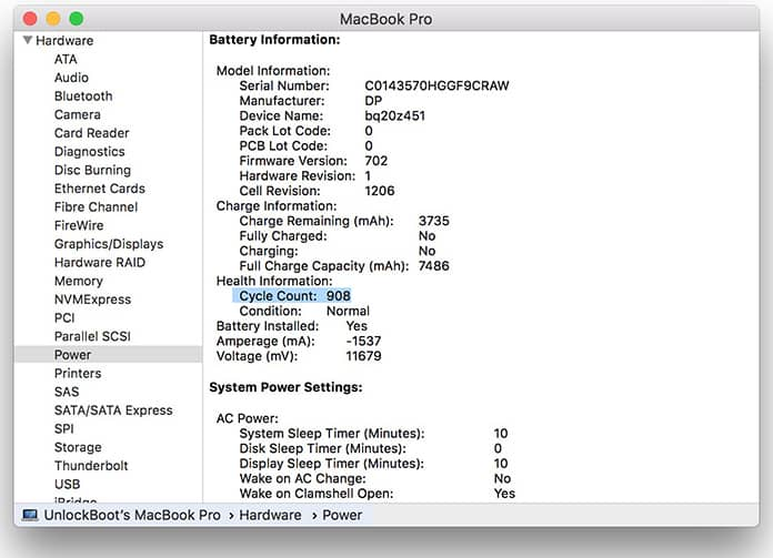 macbook battery cycle count