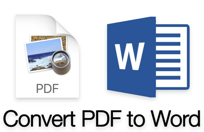 convert pdf to word on mac
