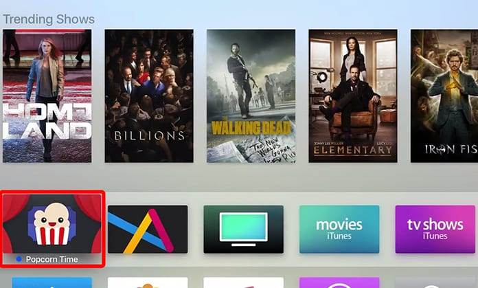 popcorn time on apple tv