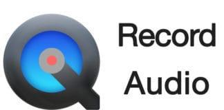 record audio on mac