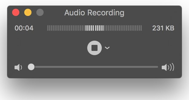 record audio mac
