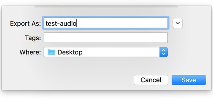 record sound on macbook