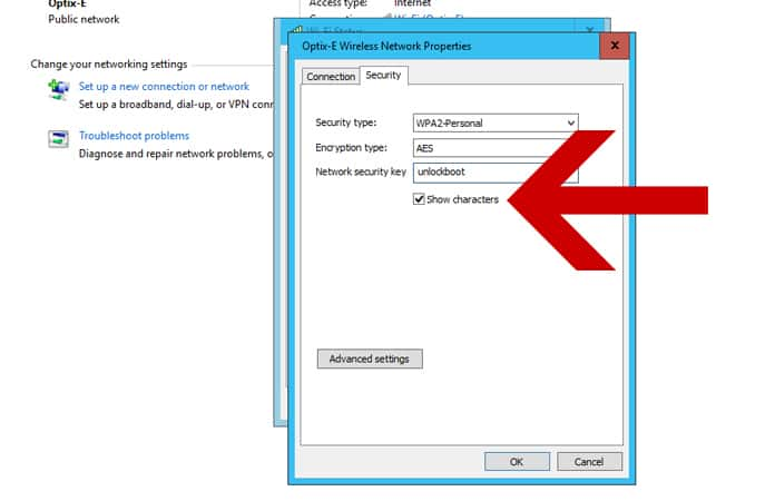 find saved wifi passwords on pc