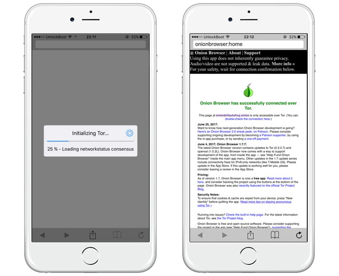 how to use tor browser on ipad