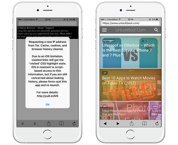 tor browser for iphone