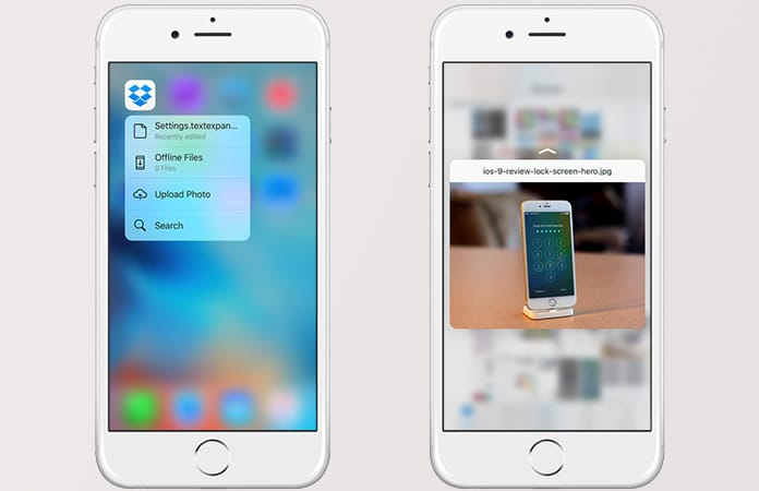 3d touch apps iphone 7