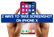 2 Ways to Take Screenshot on iPhone X