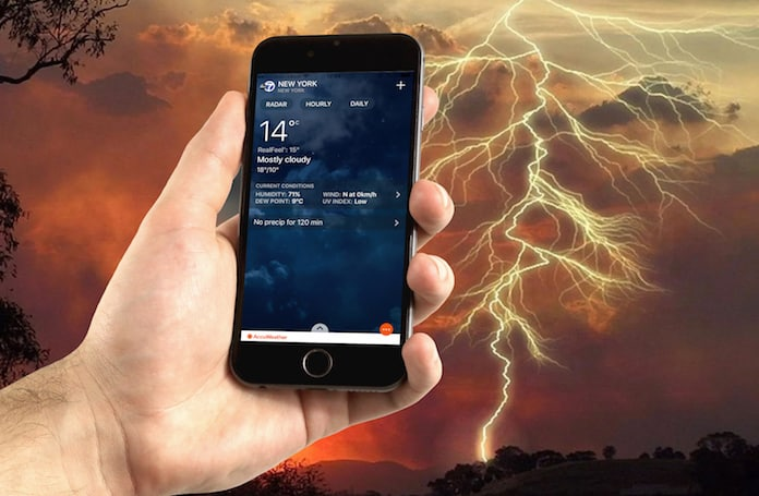 accuweather alternatives for ios