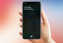 use siri on iphone x