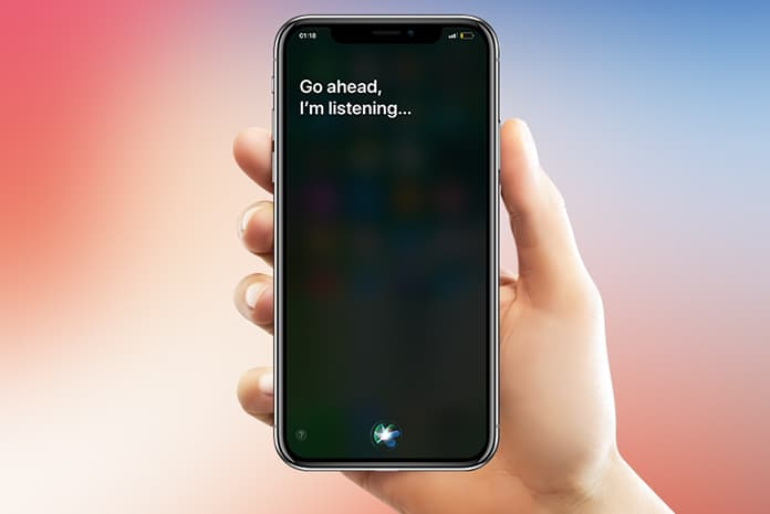 use siri on iphone x