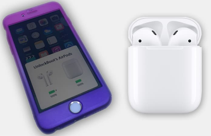 how to check charge level of airpods