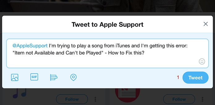 apple music item not available