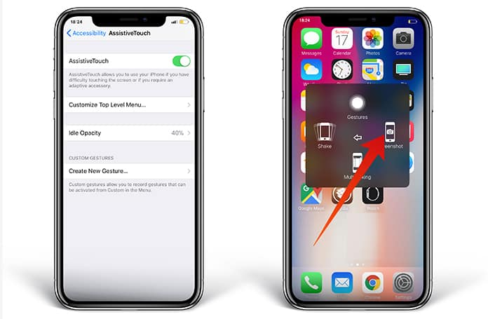 How to Take a Screenshot on iPhone XS Max/XS/XR