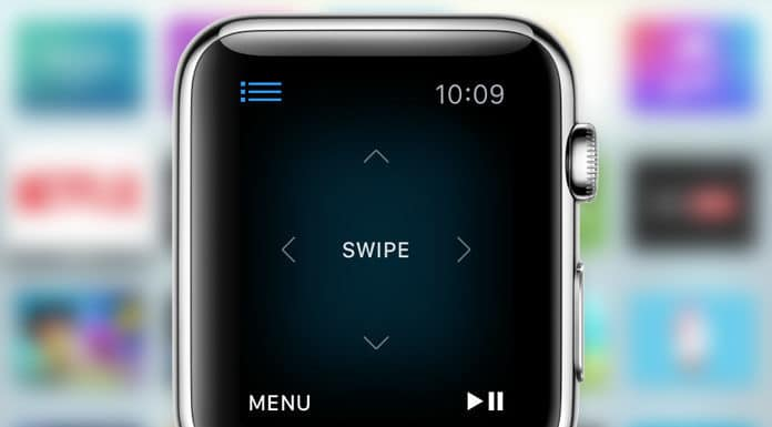use apple watch as apple tv remote