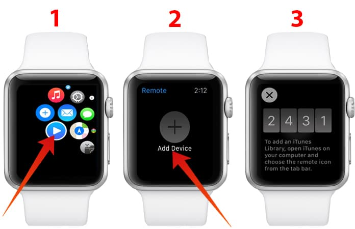 how to use apple watch as apple tv remote