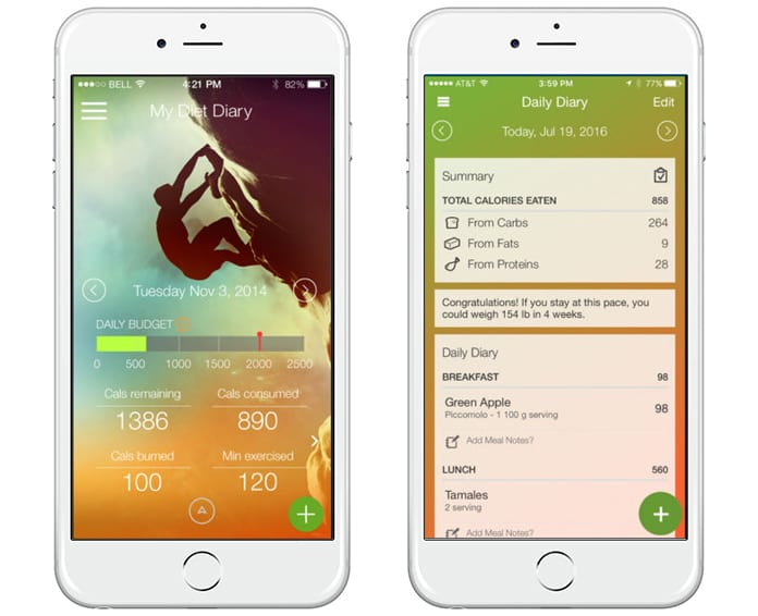 weight loss tracking apps for iphone