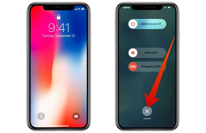 turn off face id on iphone x