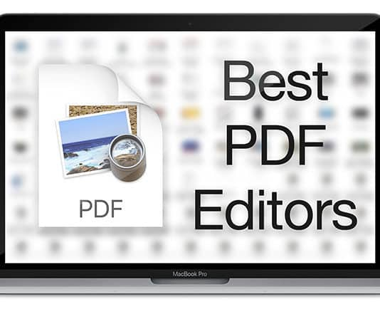 best pdf editor for mac