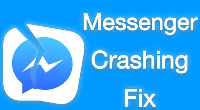 facebook messenger crashing on iphone