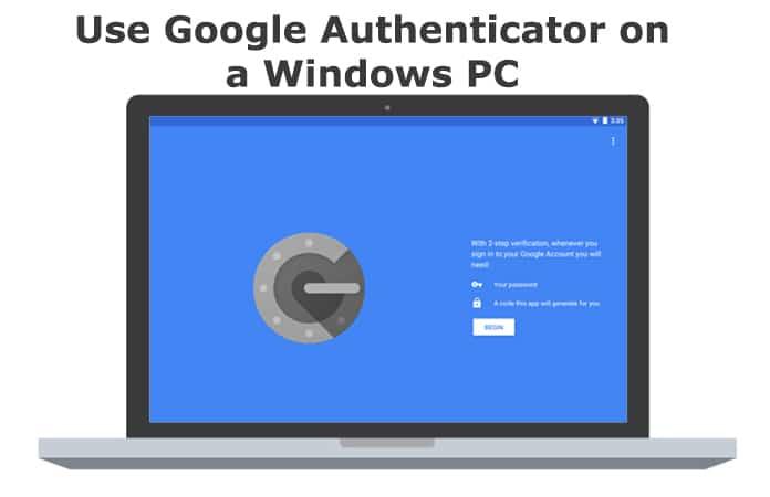 google authenticator for windows