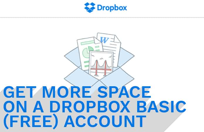 get more dropbox space