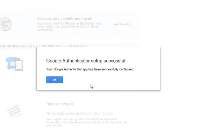google authenticator online