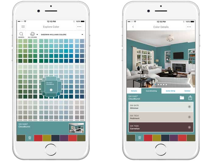 Color Snap Visualizer for iPhone. room design app