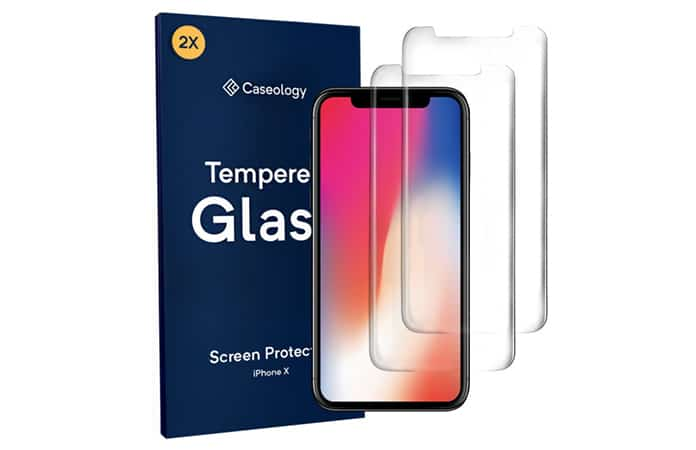 glass screen protector for iphone x