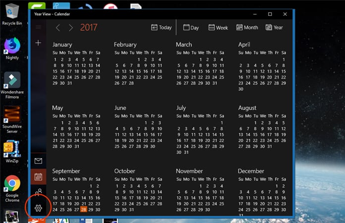 sync icloud and windows 10 calendar