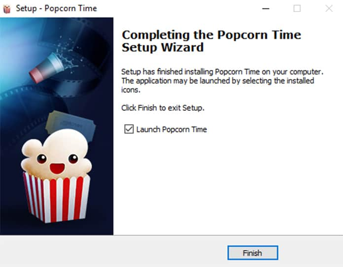 how to install popcorn time
