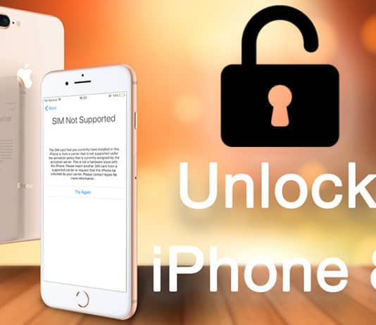 unlock iphone 8