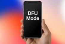 put iphone x in dfu mode