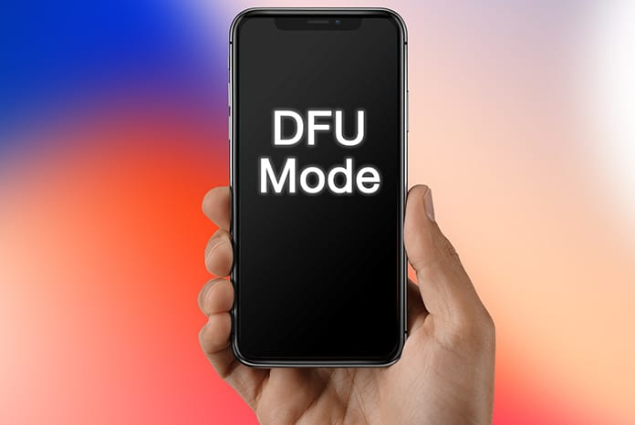 put iphone x in dfu mode